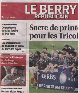 Berry Républicain -  21 Mars 2010  1/2
